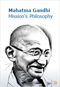 Mahatma Gandhi Mission's:Philosophy